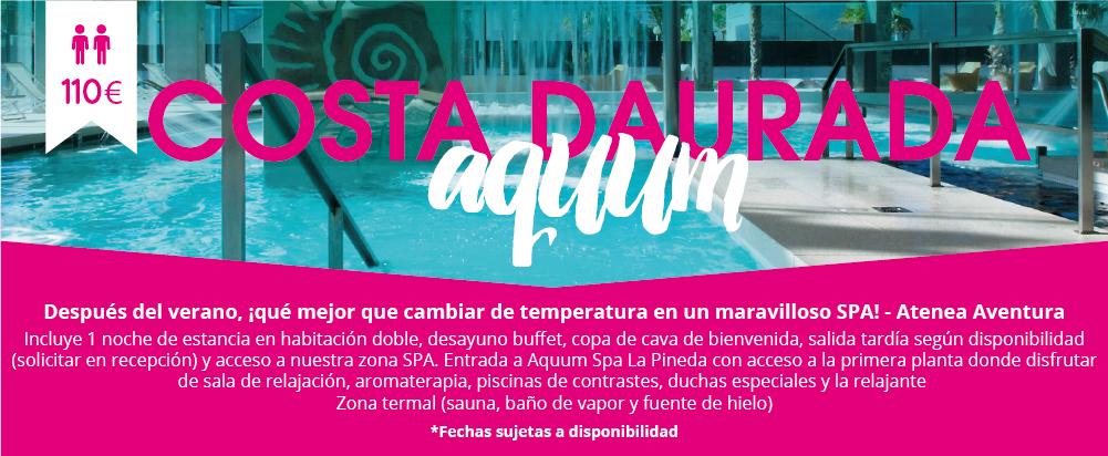 Livingbox Active Aquum Spa La Pineda Tarragona
